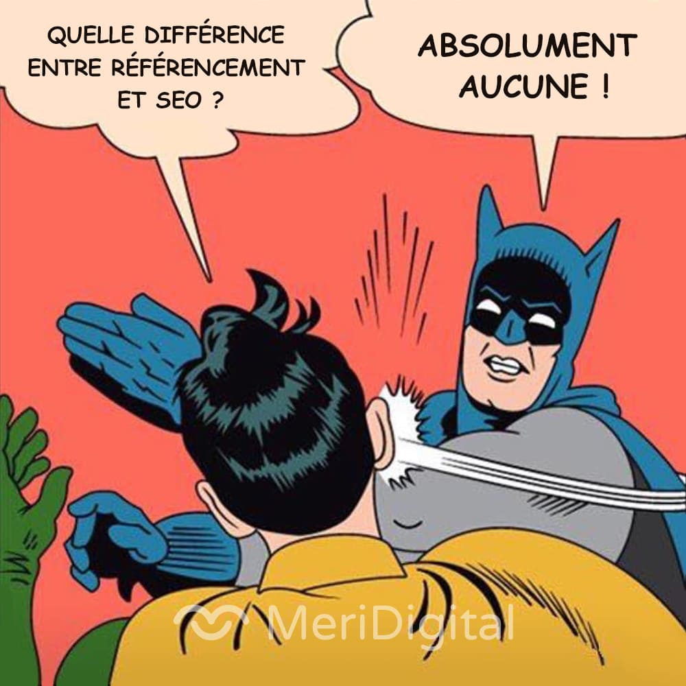 difference référencement seo