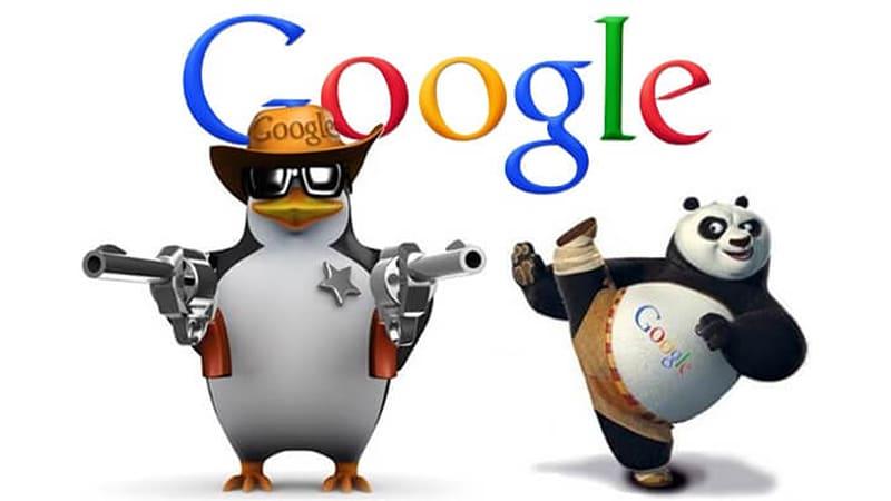 pénalité google panda penguin